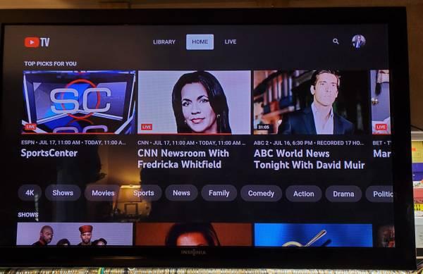 Photo 40 inch Insignia Television EXCELLENT CONDITION - $150 (Baltimore)