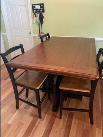 Photo 4 Pottery Barn Dining Chairs and 2 Barstools - $120 (MD)