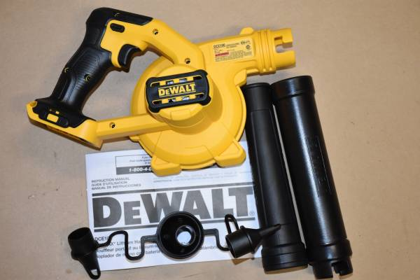 Photo A Brand new Dewalt 20 V MAX Blower DCE100B - $101 (cockeysville, MD)