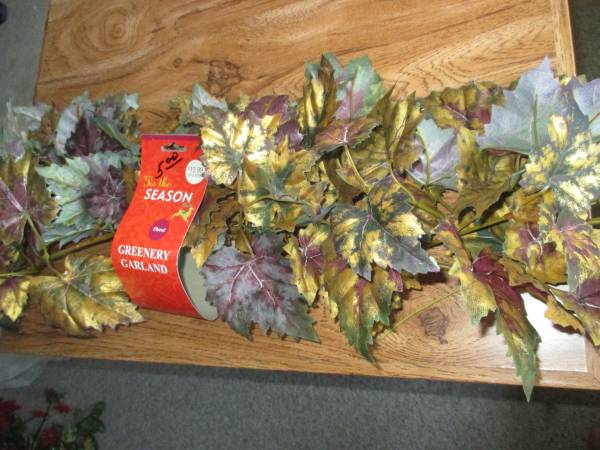 Photo Bag of Artificial FlowersGreenery - $10 (Columbia, MD)