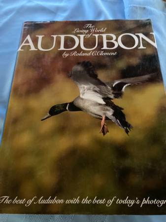Photo Book - The Living World of Audubon - $10 (Perryville)