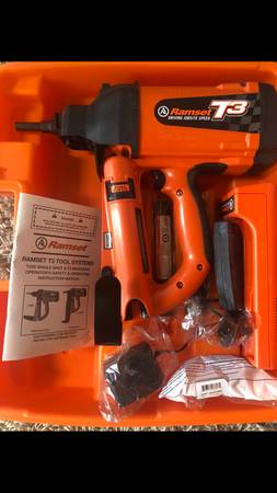 Photo Brand New Ramset T3 Single Shot and T3 Magazine - $500 (Forest Hill)
