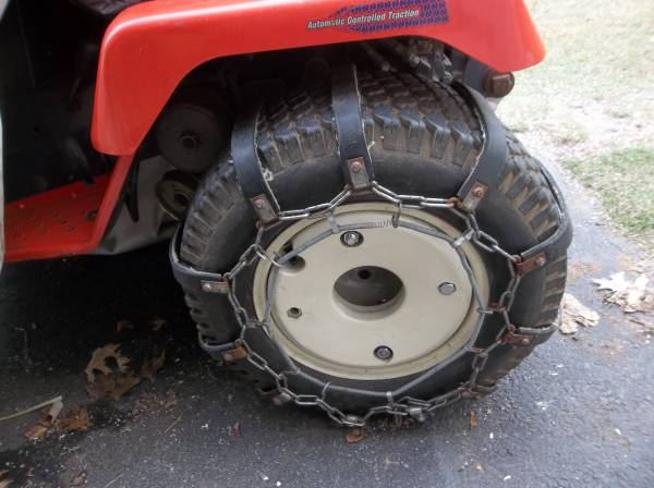 Photo Cast Iron Garden Tractor Wheel Weights - $120 (Westminster)