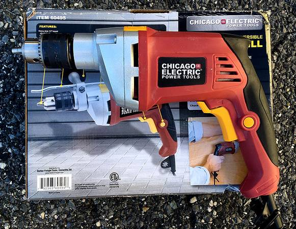 Photo Chicago Electric Hammer Drill - $35 (Rosedale, MD)