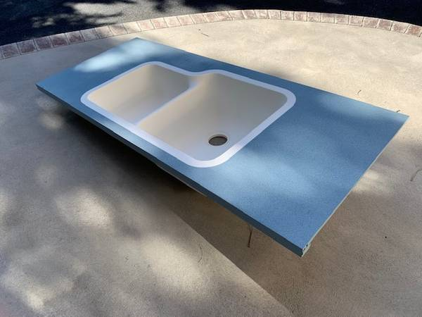 Photo Corian Double Sink - $185 (Catonsville)