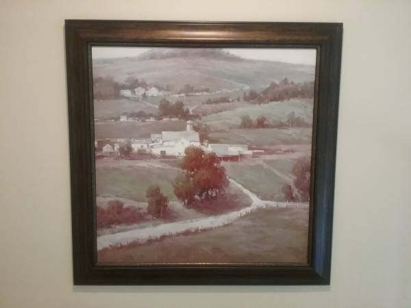 Photo Country Farm Framed Art - $140 (Forest Hill MD)