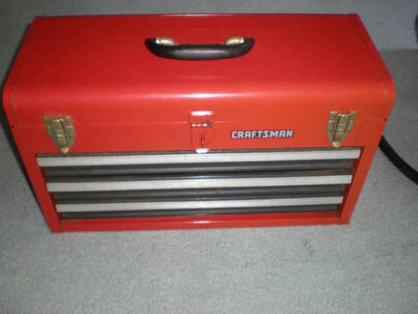 Photo Craftsman 3 drawer tool box - $40 (baltimore)