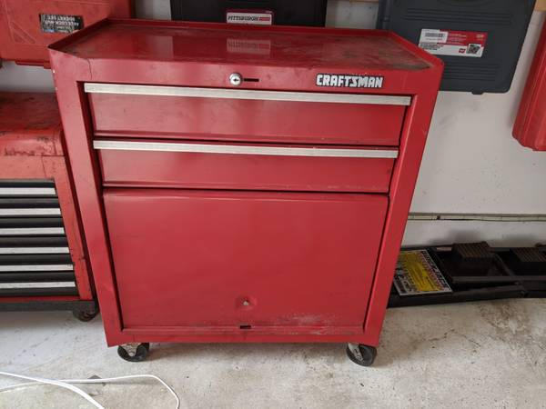 Photo Craftsman rolling toolbox - $65 (Lutherville)