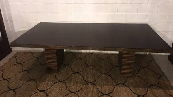 Photo Crate and Barrel Paloma II Reclaimed Wood Dining Table - $1050 (Cockeysville)