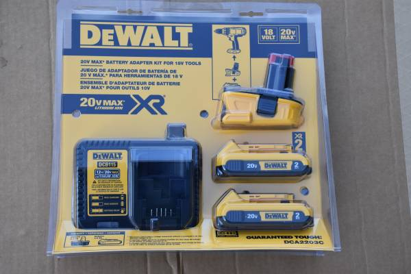 Photo Dewalt 20 V MAX XR Fast chargers etc. (Bel Air, MD)