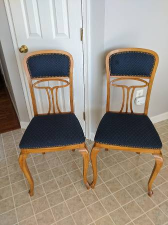 Photo EARLY to MID 20th CENTURY EUROPEAN PAIRED ACCENT CHAIRS  CHAIR (N. Bel Air  Forest Hill, MD)