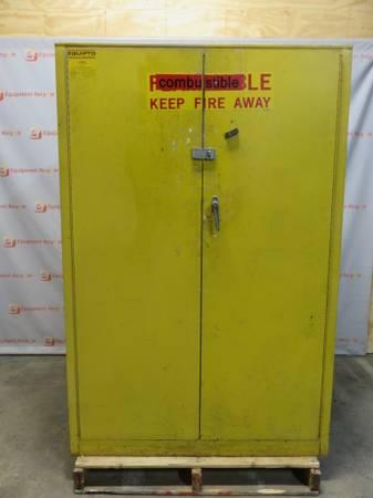 Photo Equipto 45 Gallon Flammable Hazardous Material Cabinet - $450 (Rosedale)