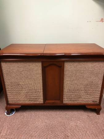 Photo Fisher Stereo Console - $550 (Brooklyn Prk.)