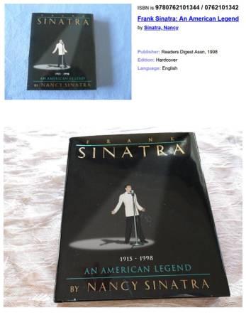 Photo Frank Sinatra  An American Legend - $40