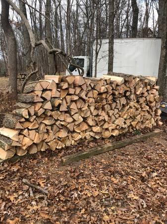 Photo Half-Seasoned Oak Firewood - $170 (Street)