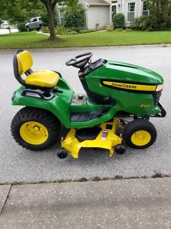 Photo John Deere X520 Garden Tractor - $3,000 (Elkridge)