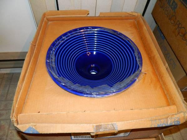 Photo Kohler K-2191-G-C9 Turnings 15-78quot Vessel Sink With Glazed Underside - $275 (Joppatowne md 21085)