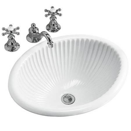 Photo Kohler K2217-0 quotLiniaquot Self Rimming Bathroom Sink (Joppatowne md 21085)