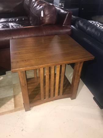 Photo Lane Mission Style Oak Occasional  End Table - $115 (Cockeysville)