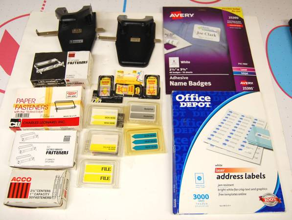 Photo Large Lot of Accounting  Business Office Supplies - $40 (Pikesville)