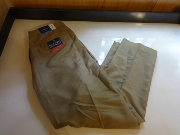 Photo Men39s Croft  Barrow Classic Flat Front Pants 36 x 30 NWT - $5 (HAMPSTEAD)