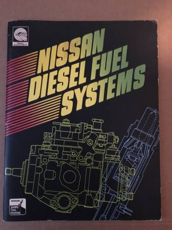 Photo Nissan Diesel Fuel Systems Book - $15
