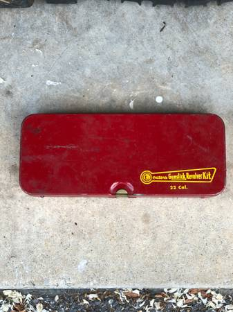 Photo Old Metal Cleaning Case For 22 Cal (Hstead)