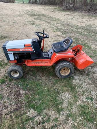 Photo Simplicity 6008 Tractor wtiller - $350 (Forest Hill)