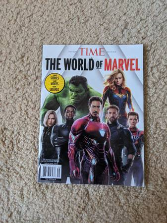 Photo The World of Marvel Mag