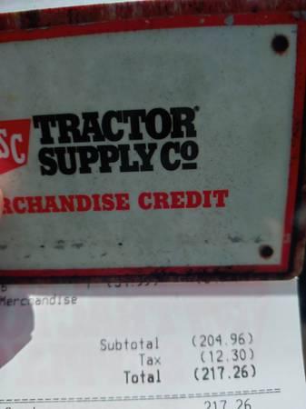 Photo Tractor supply gift card - $150 (STEWARTSTOWN)