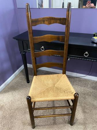 Photo Two Wood Chairs from Pier One - $15 OBO - $15 (Middle River)