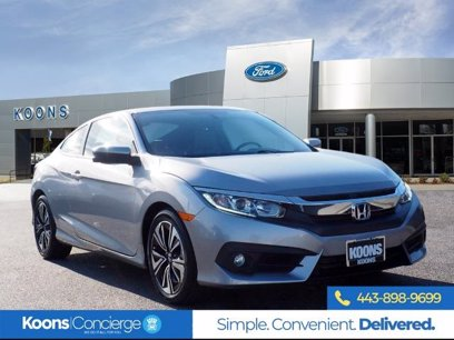 Photo Used 2017 Honda Civic EX-T Coupe for sale