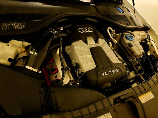 Photo Used RKX intake hose  Pipercross filter (fits Audi C77.5 a67 3.0T) - $100 (Laurel)