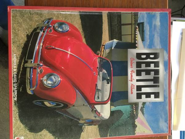 Photo VW Beetle - a celebration in color photos Xmas - $10 (Bel Air md)