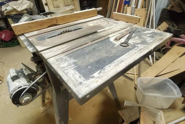 Photo Vintage Craftsman Table Saw - $80 (Downtown Baltimore Mount Vernon)