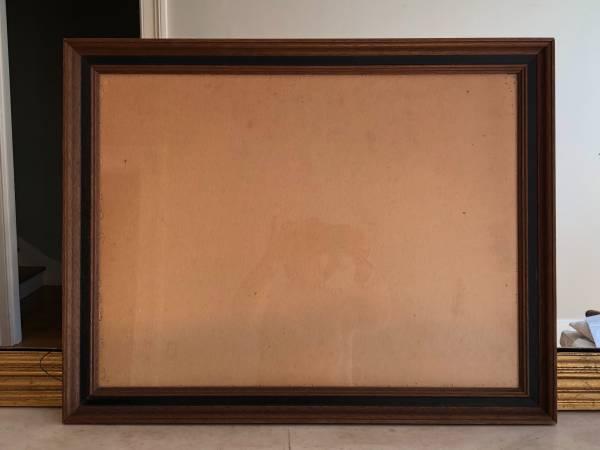 Photo Vintage Wood Frame - $10 (Downtown, Mount Vernon)