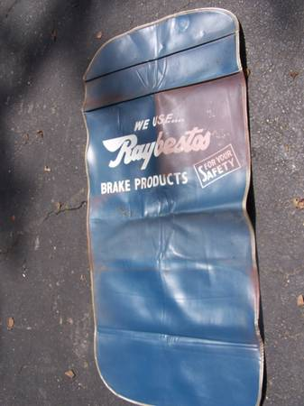 Photo Vintage car fender cover - $15 (White Marsh)