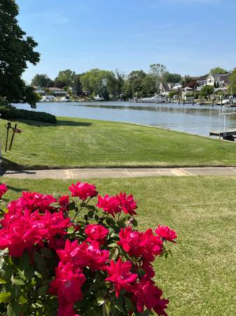 Photo WATERFRONT TOWNHOUSE 3 bed  1.5 bath PRIVATE pier no HOA (Rumsey Island - Joppatowne)