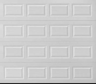 Photo Wayne Dalton Classic 9x7 Insulated Steel Garage Door Model 9100 NEW (White Marsh Md 21162)