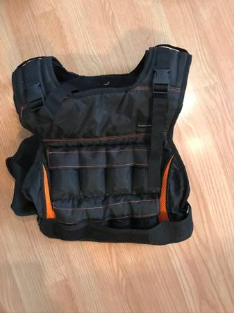 Photo Weighted vest (20lb, Fitness Gear) - $25 (Fells Point)