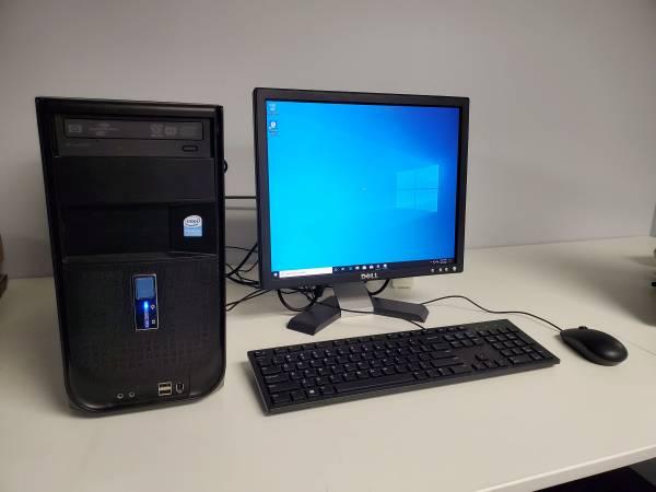 Photo Workstation Desktop PC - Intel Dual Core CPU E2180 2.0GHz, 4GB RAM, 1TB HDD  Wi - $125 (Bel Air MD)