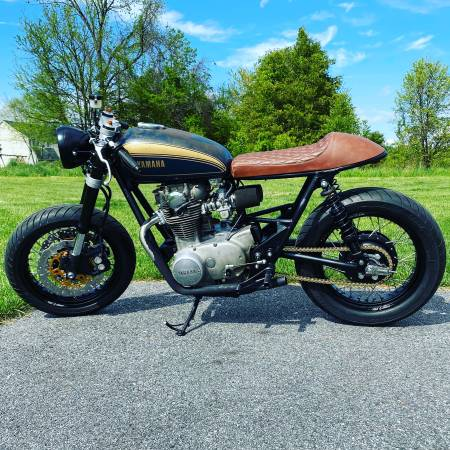 Photo XS650 Cafe Racer - $5,000 (Perry Hall, MD)