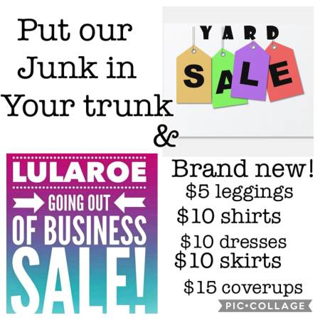 Photo Yardsale and Lularoe Going out of business sale (Parkville)