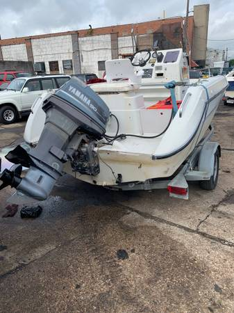 Photo ready to go . center console  boat  motor  trailer . - $5,500 (Curtis Bay)
