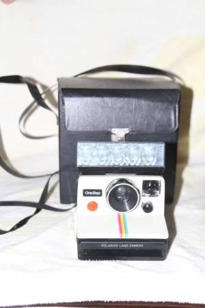Photo vintage Polaroid land camera - One step - $20 (BelAir)