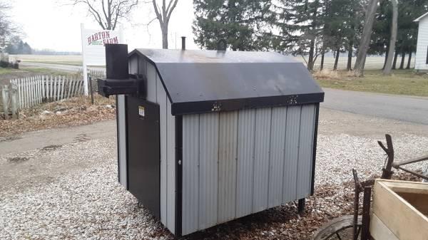 Photo 14,000 SQ FT wood doctor outdoor wood boiler stove - $5,000 (Olivet)