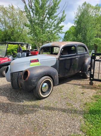 Photo 1939 Ford 2 door deluxe sedan - $3,500 (union city or taylor)