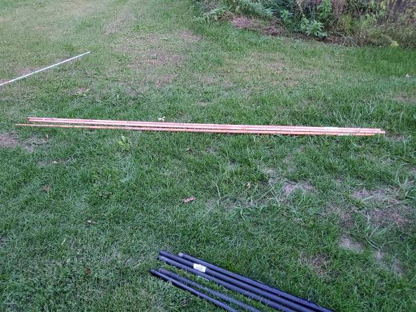 Photo 1quot Copper Water Pipe 1039 lengths - $45 (Coldwater)