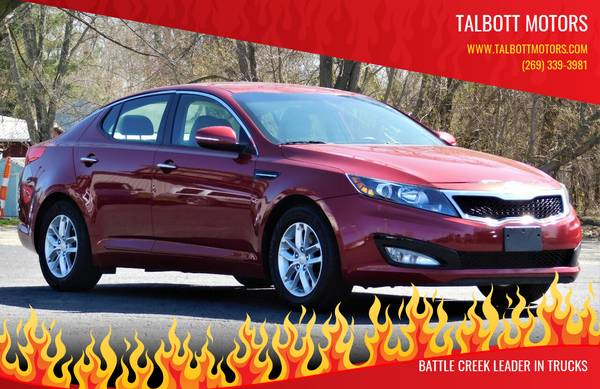 Photo 2012 KIA OPTIMA LX W BRAND NEW ENGINE WWW.TALBOTTMOTORS.COM - $6900 (battle creek)
