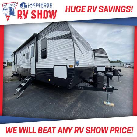 Photo 2021 Hideout LHS 318BR Bunk Room Travel Trailer RV Cer IN STOCK - $31,485